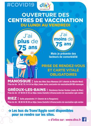 Centre de vaccination – COVID 19